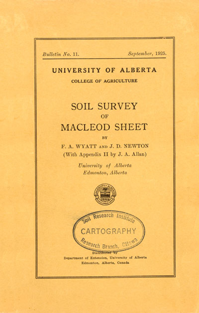 View the Soil Survey of Macleod Sheet (PDF Format)
