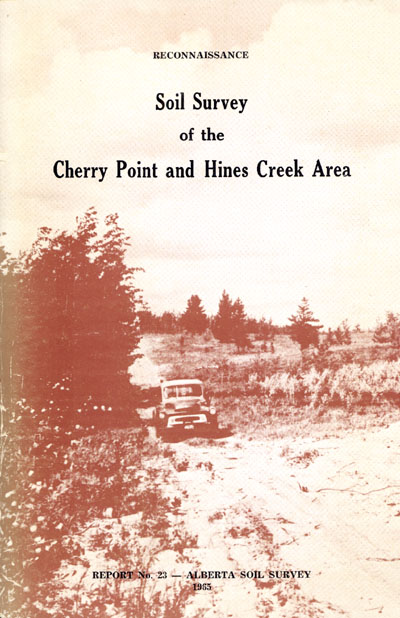 View the Soil Survey of the Cherry Point and Hines Creek Area (PDF Format)