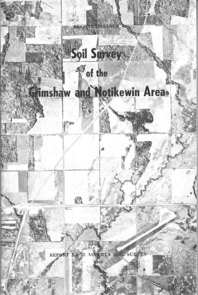 View the Soil Survey of the Grimshaw and Notikewin Area (PDF Format)