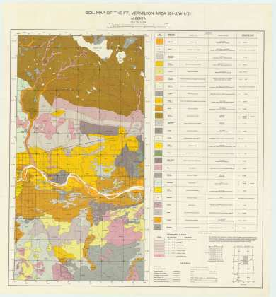 View the map:  MAP SOIL Ft Vermillion (JPG Format)