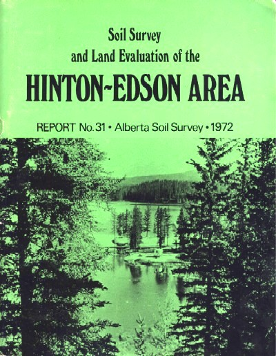 View the Soil Survey and Land Evaluation of the Hinton-Edson Area (PDF Format)