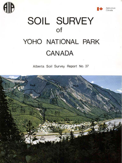 View the Soil Survey of Yoho National Park Canada (PDF Format)