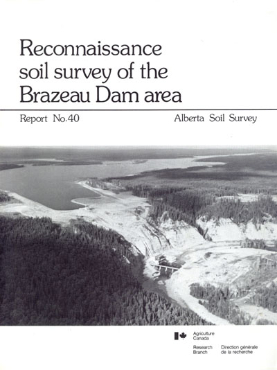 View the Reconnaissance Soil Survey of the Brazeau Dam Area (PDF Format)