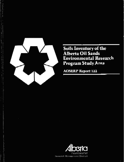 View the Soils Inventory of the Alberta Oil Sands Environmental Research Program Study Area (PDF Format)