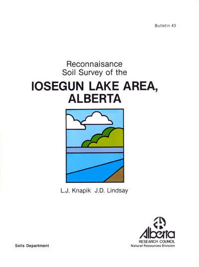 View the Reconnaissance Soil Survey of the losegun Lake Area, Alberta (PDF Format)