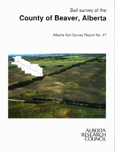 View the Soil Survey of the County of Beaver, Alberta (PDF Format)