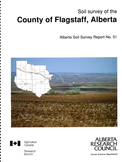 View the Soil Survey of the County of Flagstaff, Alberta (PDF Format)