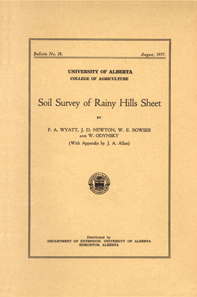 View the Soil Survey of the Rainy Hills Sheet (PDF Format)
