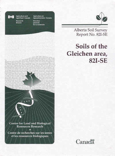 View the Soils of the Gleichen Area, 82I-SE (PDF Format)