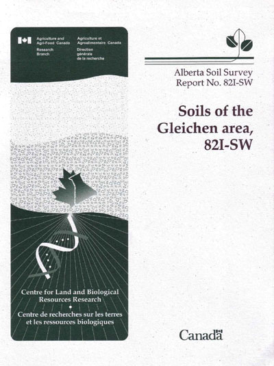 View the Soils of the Gleichen Area, 82I-SW (PDF Format)
