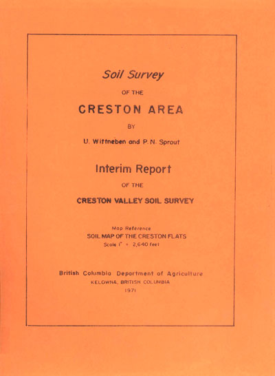 View the Soil Survey of the Creston Area (PDF Format)