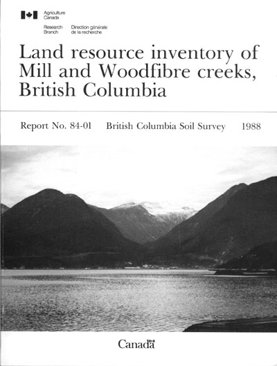 View the Land Resource Inventory of Mill and Woodfibre Creeks (PDF Format)