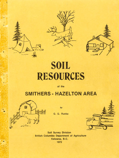 View the Soil Resources of the Smithers-Hazelton Area (PDF Format)