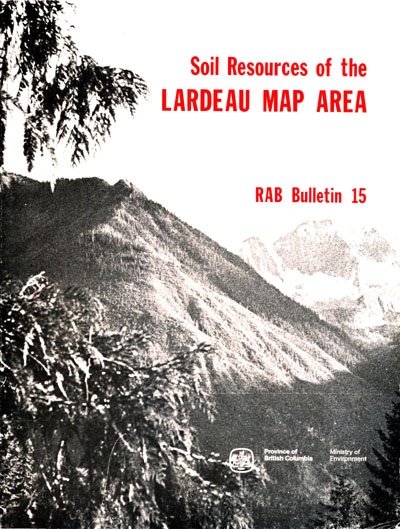 View the Soil Resources of the Lardeau Map Area (PDF Format)
