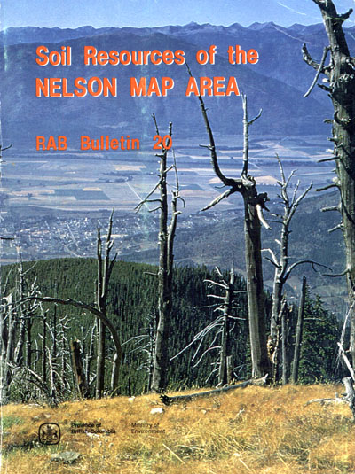 View the Soil Resources of the Nelson Map Area (PDF Format)