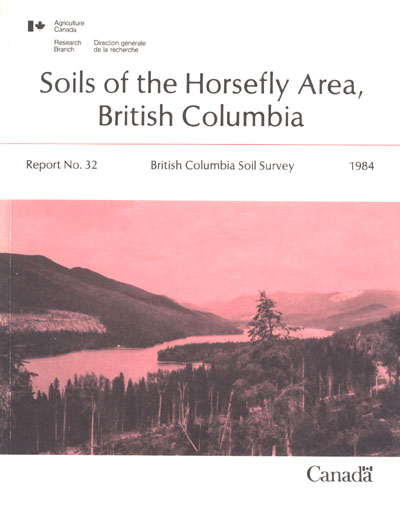 View the Soils of the Horsefly Area, British Columbia (PDF Format)