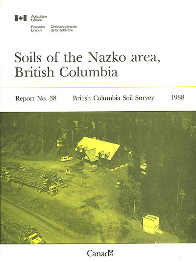 View the Soils of the Nazko Area, British Columbia (PDF Format)