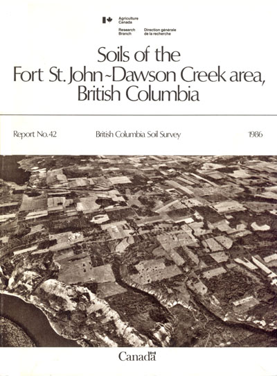 View the Soils of the Fort St. John-Dawson Creek Area, British Columbia (PDF Format)