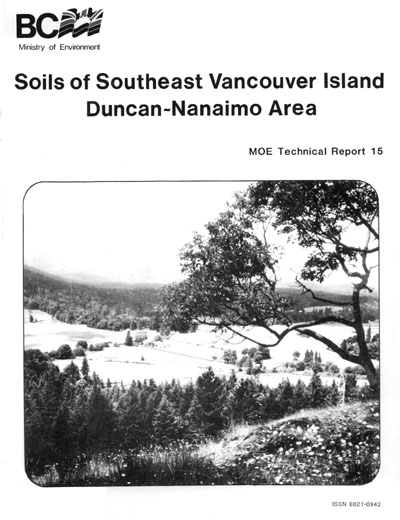 View the Soils of Southeast Vancouver Island Duncan-Nanaimo Area (PDF Format)