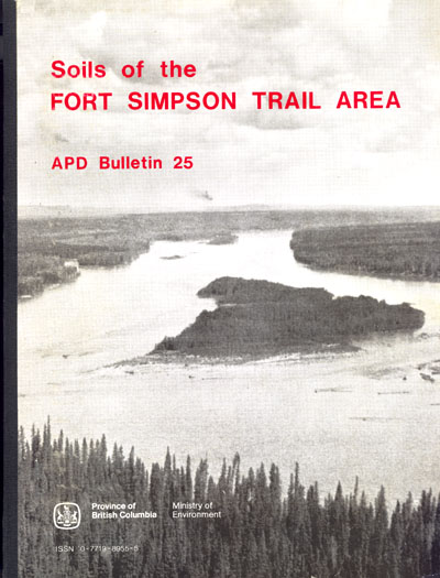 View the Soils of the Fort Simpson Trail Area (PDF Format)