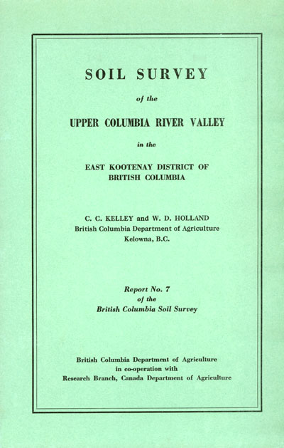 View the Soil Survey of the Upper Columbia River Valley (PDF Format)