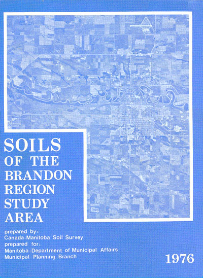 View the Soils of the Brandon Region Study Area (PDF Format)