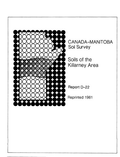 View the Soils of the Killarney Area (PDF Format)