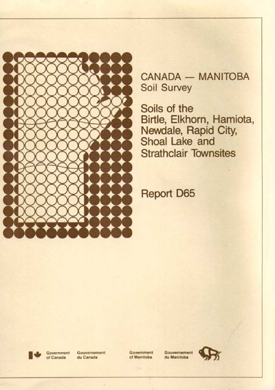 View the Soils of the Birtle, Elkhorn, Hamiota, Newdale, Rapid City, Shoal Lake and Strathclair Townsites (PDF Format)