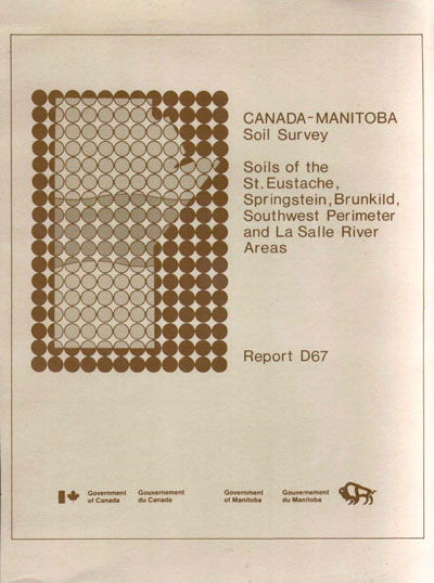 View the Soils of the St. Eustache, Springstein, Brunkild, Southwest Perimeter and Lasalle River Areas (PDF Format)