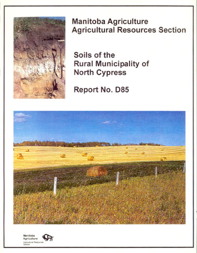 View the Soils of the Rural Municipality of North Cypress (PDF Format)