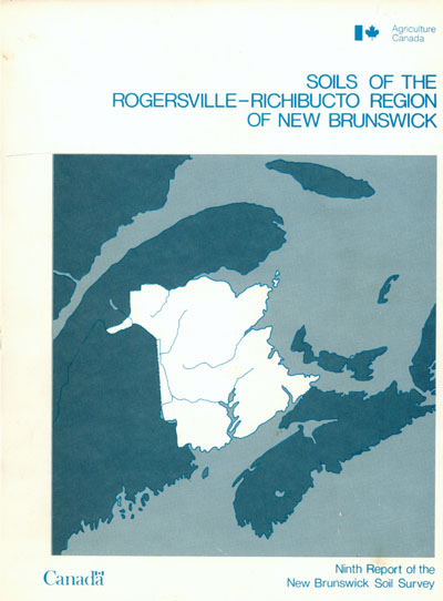 View the Soils of the Rogersville - Richibucto Region (PDF Format)