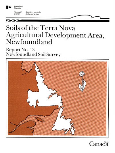 View the Soils of the Terra Nova Agricultural Development Area (PDF Format)