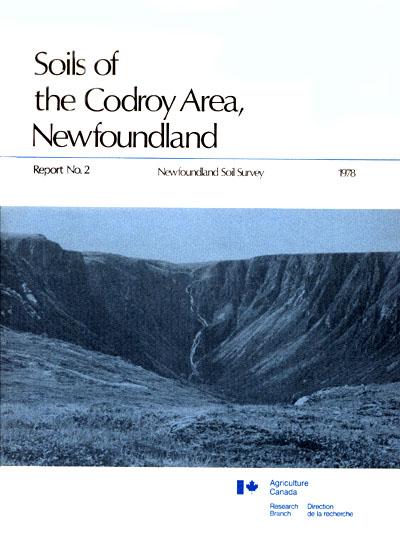 View the Soils of the Codroy Area (PDF Format)