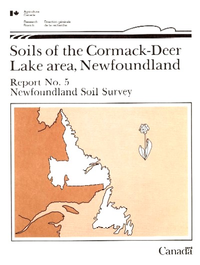 View the Soils of the Cormack - Deer Lake Area (PDF Format)