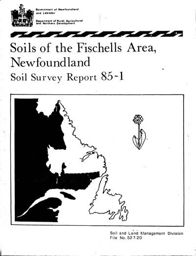 View the Soils of the Fischells Area (PDF Format)