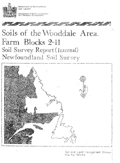 View the Soils of the Wooddale Area, Farm Blocks 2-11 (PDF Format)