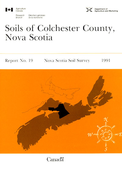 View the Soils of Colchester County (PDF Format)