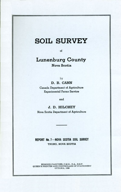 View the Soil Survey of Lunenburg County (PDF Format)