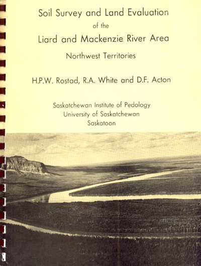 View the Soil Survey and Land Evaluation of the Liard and Mackenzie River Area (PDF Format)