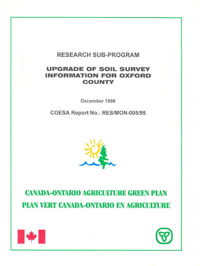 View the Upgrade of Soil Survey Information for Oxford County (PDF Format)