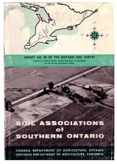 View the Soil Associations of Southern Ontario (PDF Format)