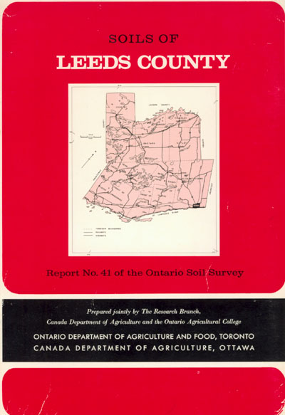 View the Soils of Leeds County (PDF Format)
