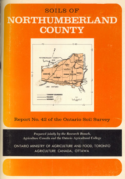 View the Soils of Northumberland County (PDF Format)