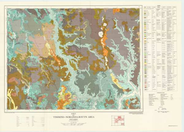 Soils of TimminsNorandaRouyn No Report