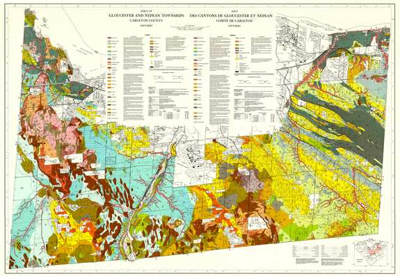View the map:  SOILS MAP (JPG Format)