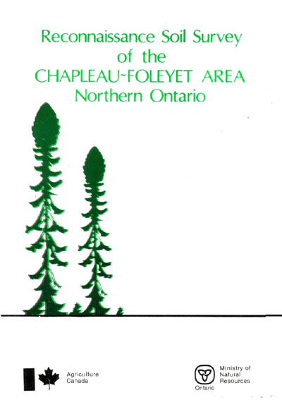 View the Reconnaissance Soil Survey of the Chapleau-Foleyet Area Northern Ontario (PDF Format)