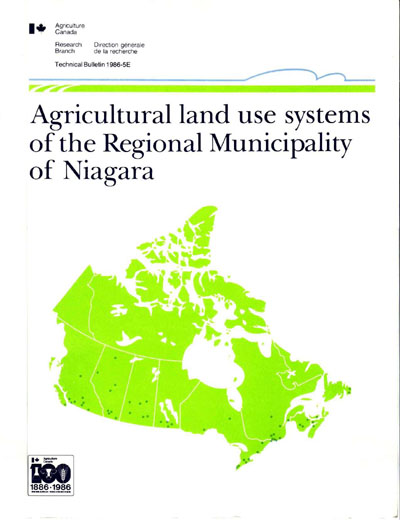 View the Agricultural Land Use Systems of the Regional Municipality of Niagara (PDF Format)