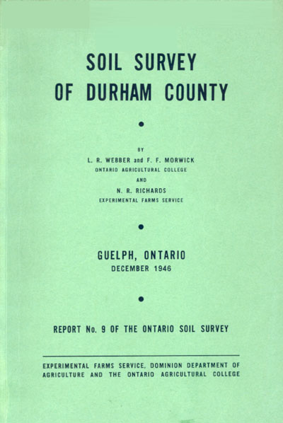 View the Soil Survey of Durham County (PDF Format)