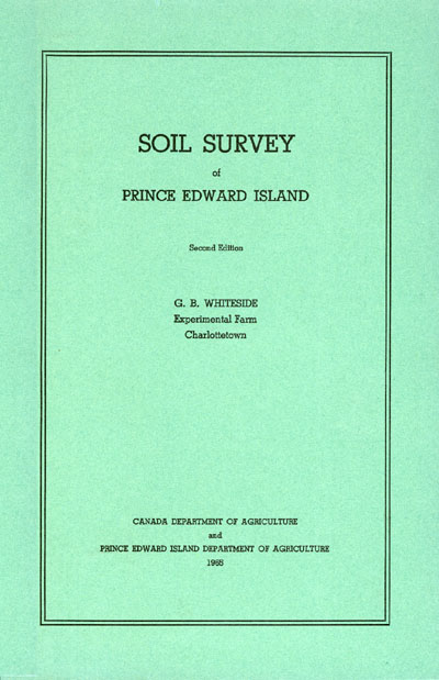 View the Soil Survey of Prince Edward Island (PDF Format)