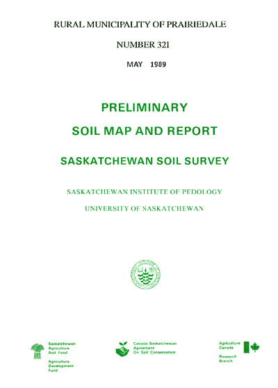 View the Rural Municipality of Prairiedale Number 321 (PDF Format)